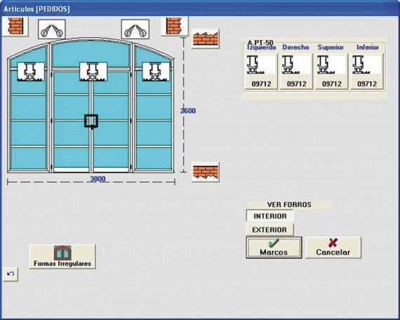 Gesf cil software para dise o y c lculo de cerramientos for Programa diseno exteriores