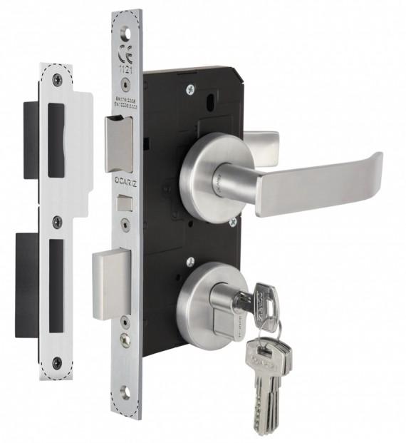Pin cerraduras para puertas de aluminio o pvc on pinterest for Cerraduras de seguridad para puertas