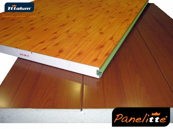 Panel autoportante en imitaci n madera o carta ral hasta 6 - Paneles imitacion madera ...